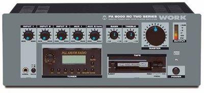 Imagen de Amplificador para megafonia PA-8000-RC