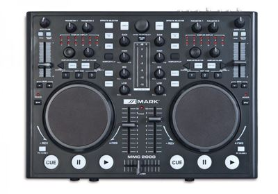 Imagen de Reproductor dual analogico/USB controlador MIDI MMC2000